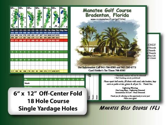 scorecards unlimited custom scorecards yardage cards